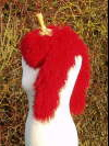 Red_Mongolian_Sheepskin_Scarf f